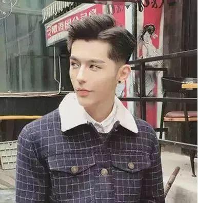 时尚男士发型一图片