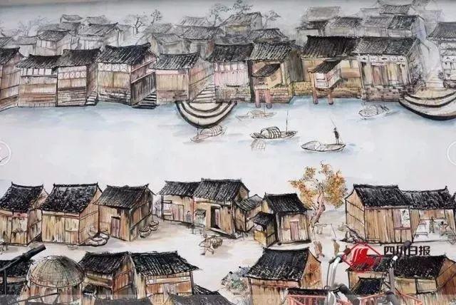 成都的这些特色手绘墙 已经成为一张张文创名片 展示着城市最