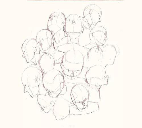 动漫 正文  动漫手绘教程之五官的画法教程,漫画人物和普通画的人物有
