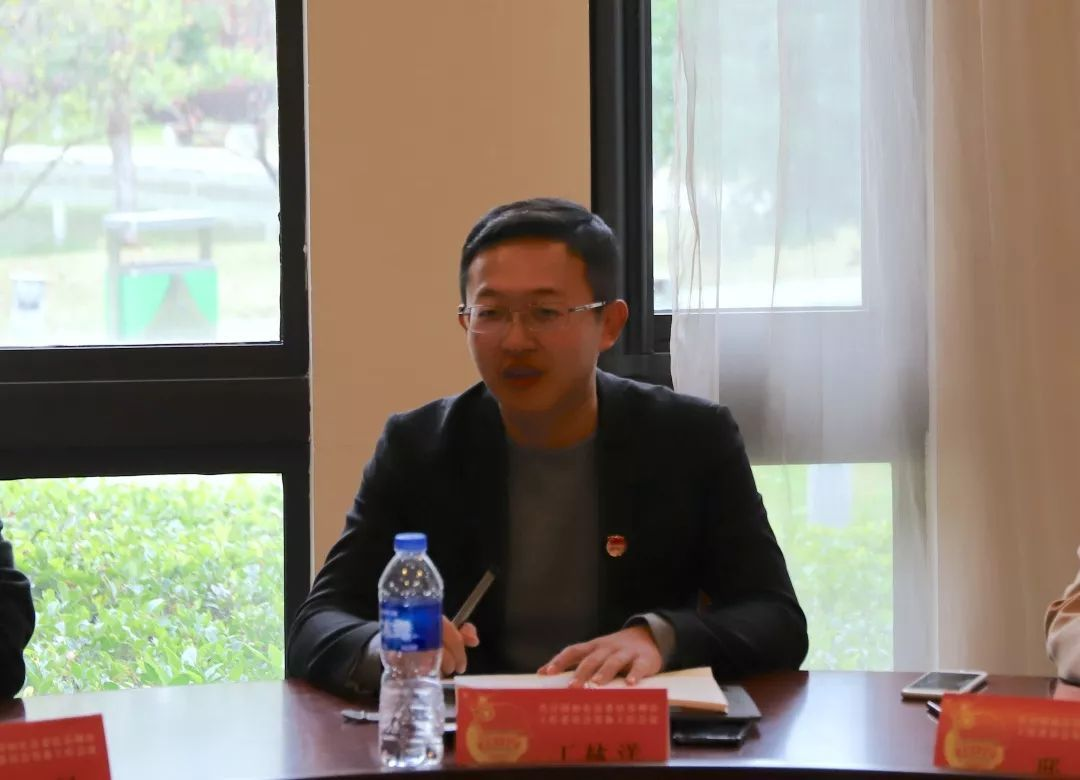 首先,县团委副书记丁林洋介绍了如东驻苏团工委筹备工作的基本情况,明