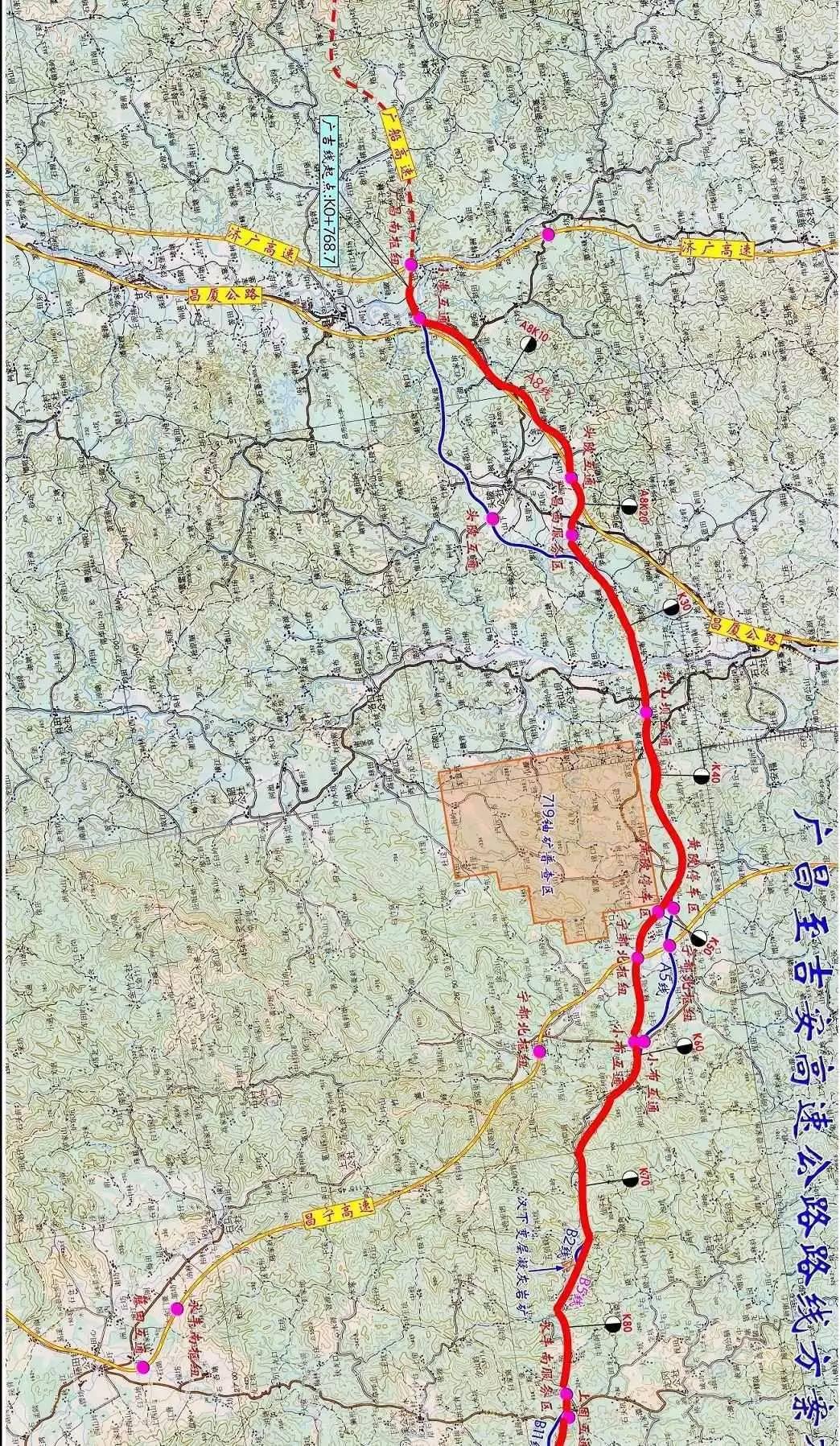 江西吉安稀土分布地图
