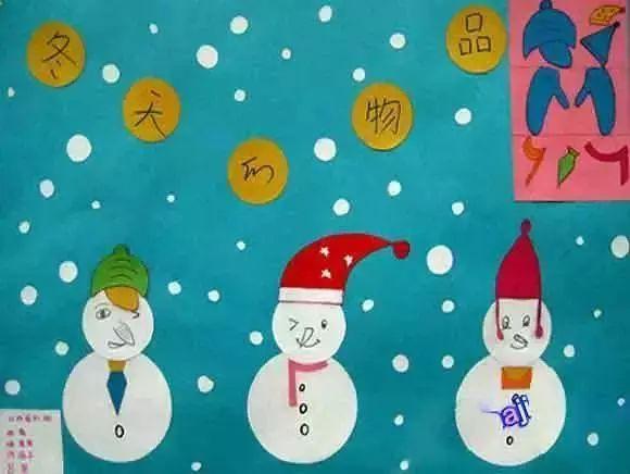 冬季主题墙│90%幼师都秒收,第一个图片