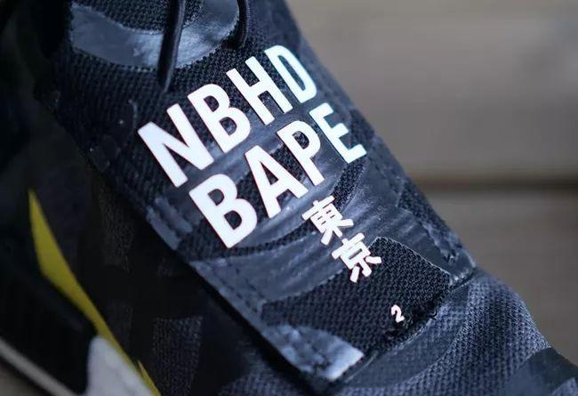 三方联名!BAPE x NBHD x adidas NMD TS1 首度曝光