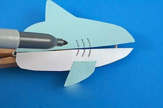 diy ▏手工制作鲨鱼玩具