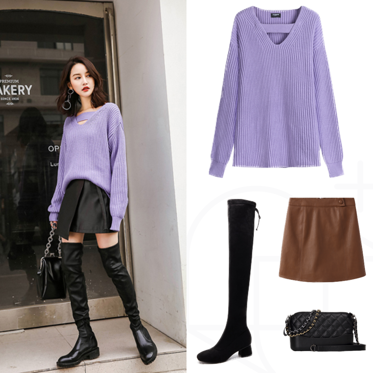毛衣的6种时髦穿法,包你美翻整个秋冬,减龄又自带高级感