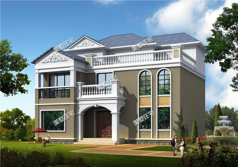 农村30万的楼房设计图
