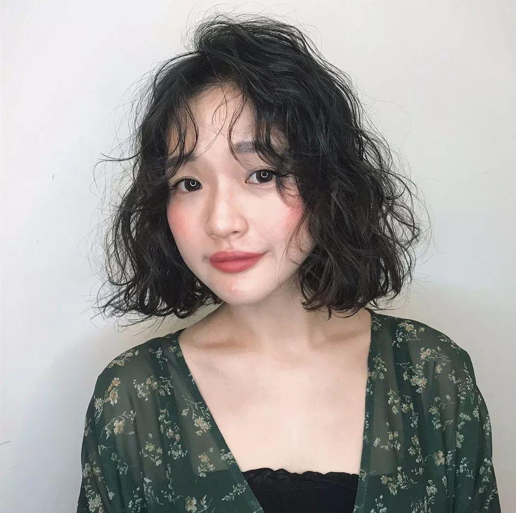 个性十足的短发小卷烫发发型-时尚频道-手机搜狐