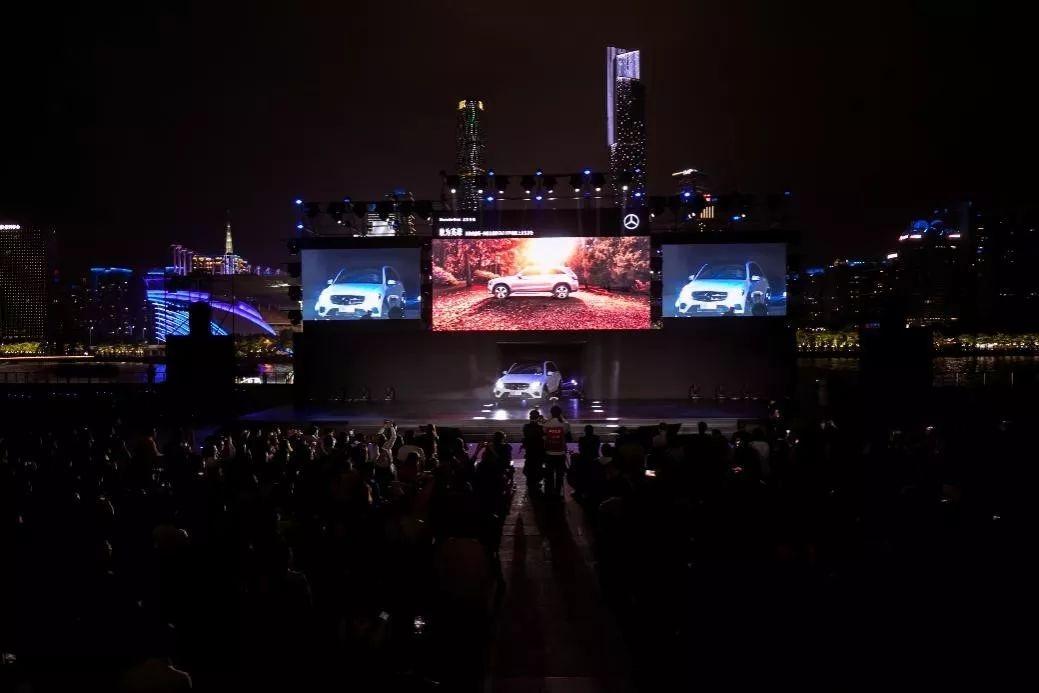 新梅赛德斯-奔驰长轴距GLC SUV广州上市发布会