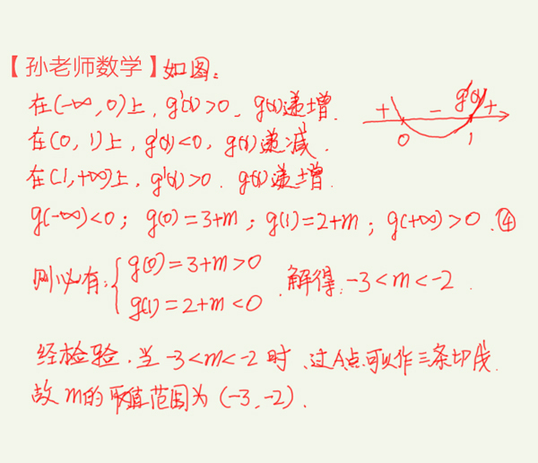高考数学,切线问题,零点的应用在高考中无处不在,灵活多变