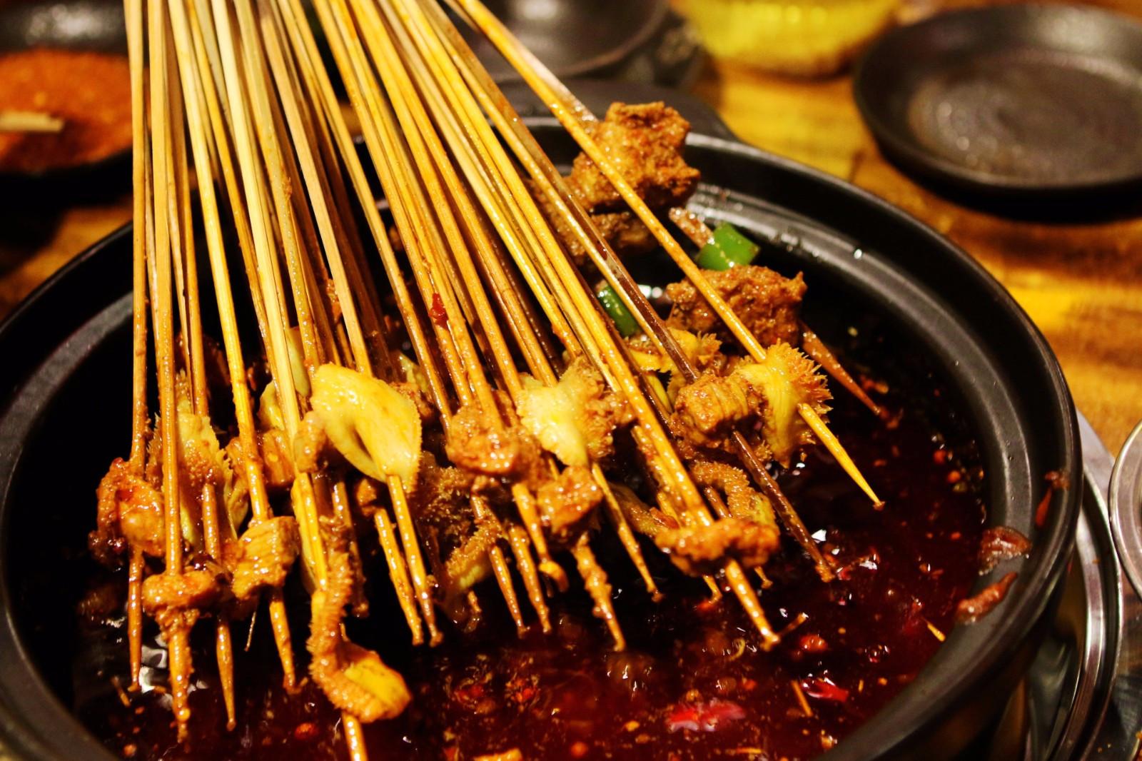 蓉美食小郡肝视觉串串一个有故事的火锅落户西安与四爷美食图片