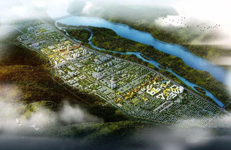 纵向城市风景图