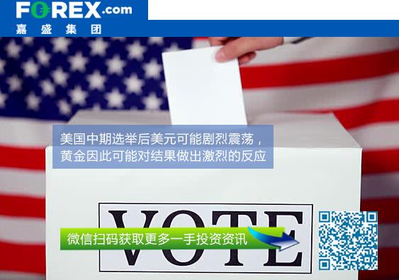 嘉盛集团:美国中期选举结果将如何影响黄金