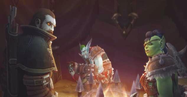 魔兽世界8.1:玛法里奥携精灵复仇部落营地!泰兰德新身份曝光!