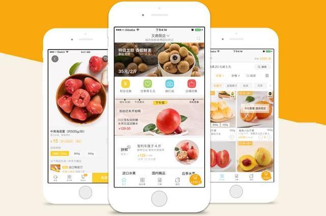 电商行业app开发