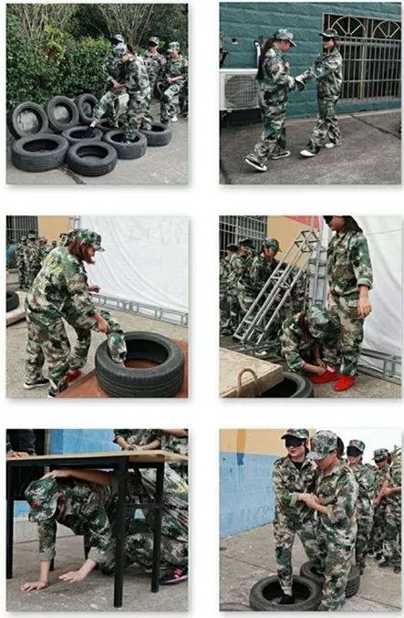 湖南义泽天财务咨询有限公司军事拓展训练营