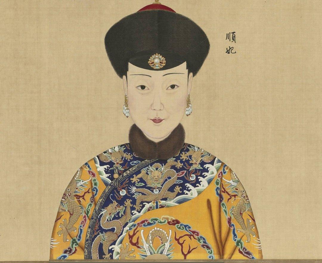 1/ 12 清朝乾隆帝在位期间,曾让宫廷画师郎世宁(意大利人)等人画了一图片