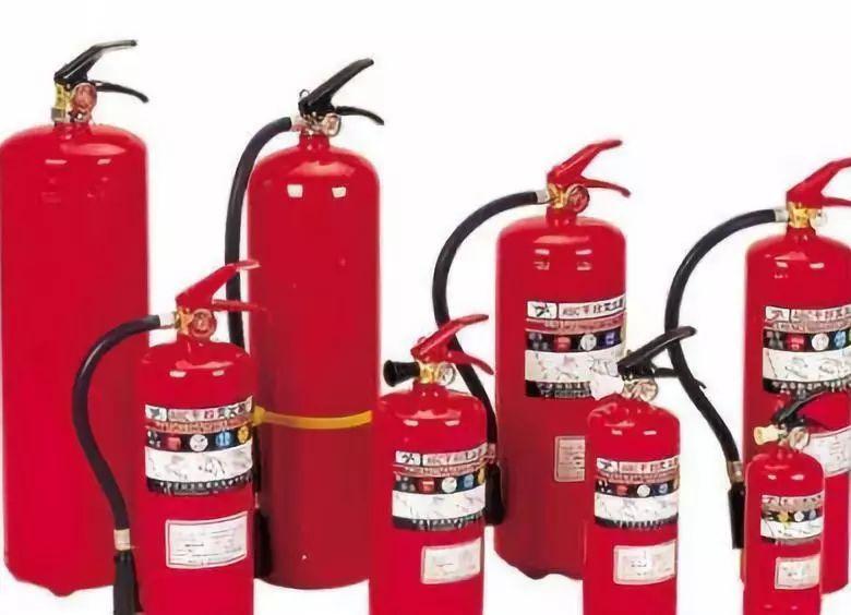 常见火灾种类及灭火方式