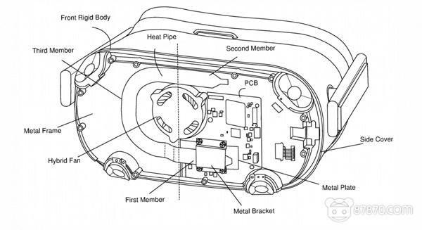 专利曝光Oculus Quest基于风扇的主动散热系统详情
