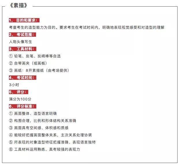 2019年广州美术学院设计类专业考题 美术考题 中国美术高考网图片
