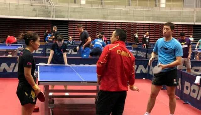 刘诗雯、许昕3-1完胜,刘国梁王牌初见成效,2连胜迎日本世界冠军