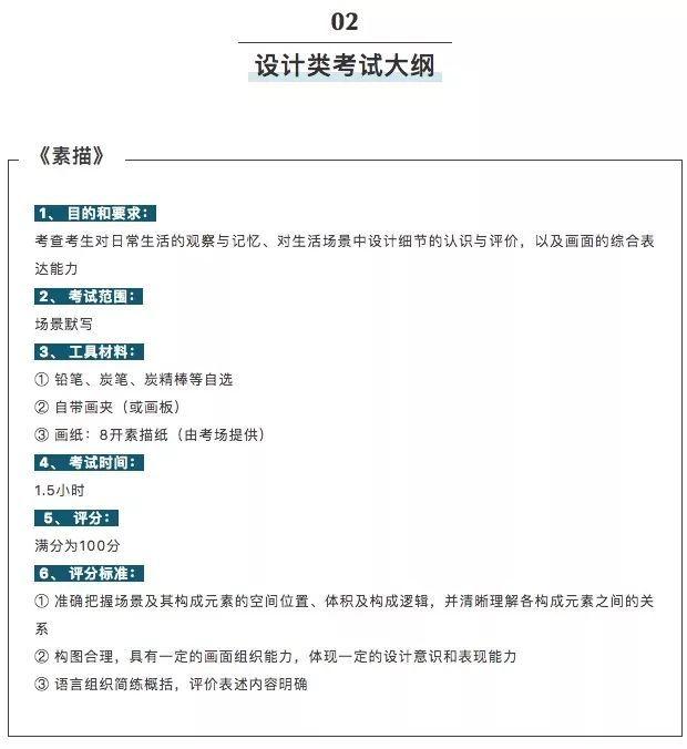 2020年广州美术学院单招试题图片