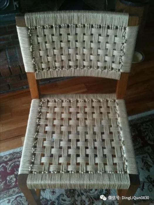 【编绳作品】凳子,桌子等编织设计思路,真能坐的哦!