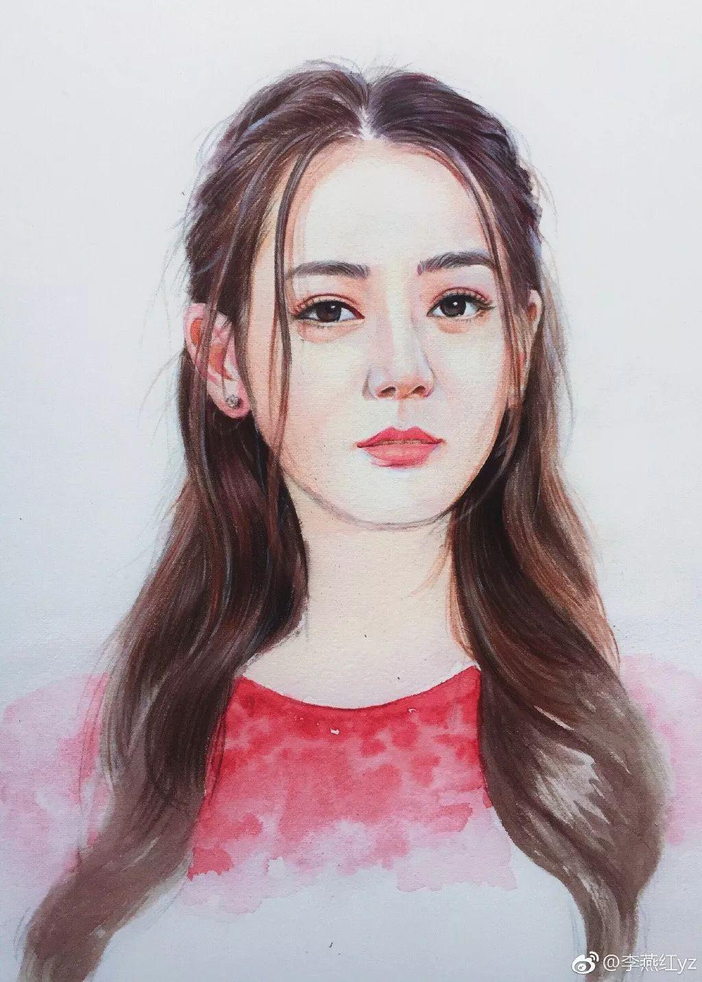 彩铅手绘蔡徐坤