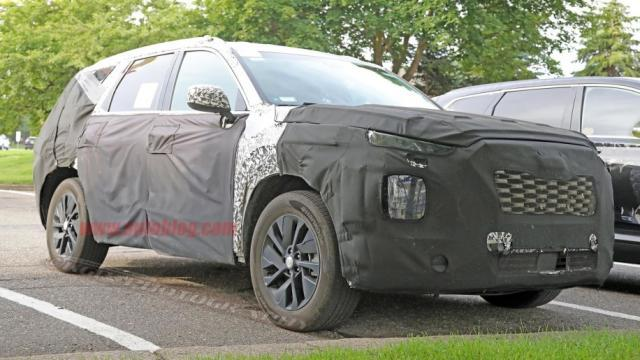 现代全新旗舰级SUV正式命名为Palisade