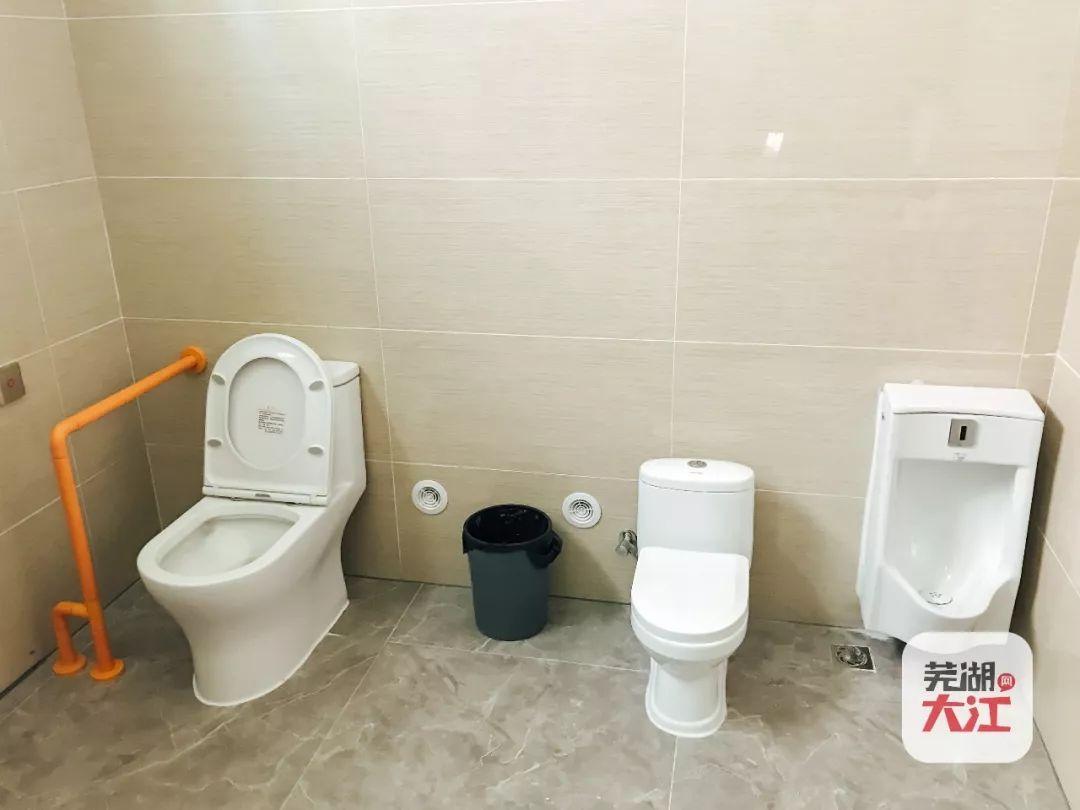 芜湖步行街中心的公共厕所大变样!测评奉上~