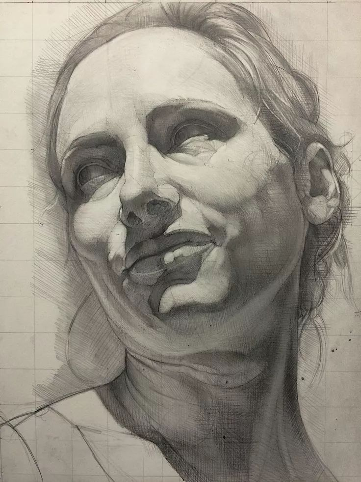 人体艺术32p_艺术家笔下:严谨的素描结构,让我受用一生