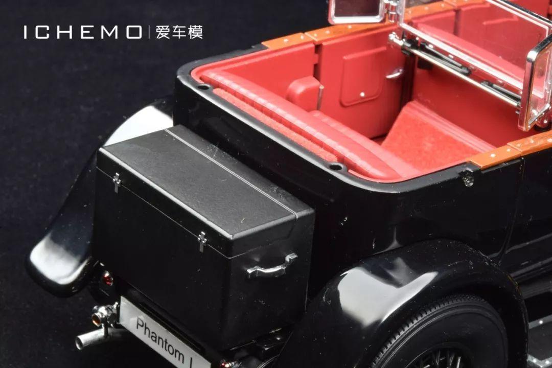 """开箱报告京商""""回归""""第一弹1:18劳斯莱斯PhantomI汽车模型_广东"""