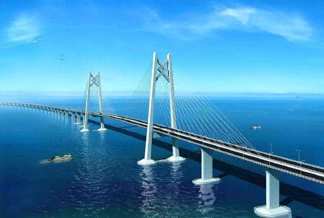 中國又建造一跨海大橋,將耗費10年,投入4000億,趕超港珠澳大橋