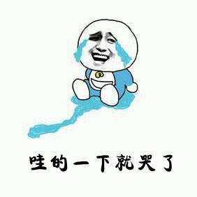 哇的一声就哭了表情包_微信哇的一下哭出声表情包图片图片