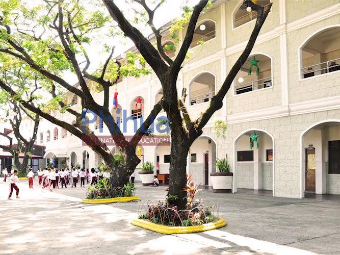 菲律宾永恒大学校园环境
