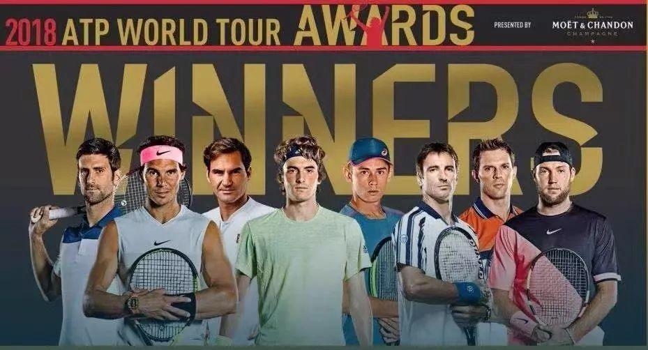 ATP各大奖项公布:费德勒连续16年获奖 德约当选最佳复出球
