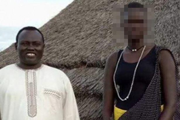 南蘇丹一名17歲女孩被公開拍賣,一名男子用三輛車買下