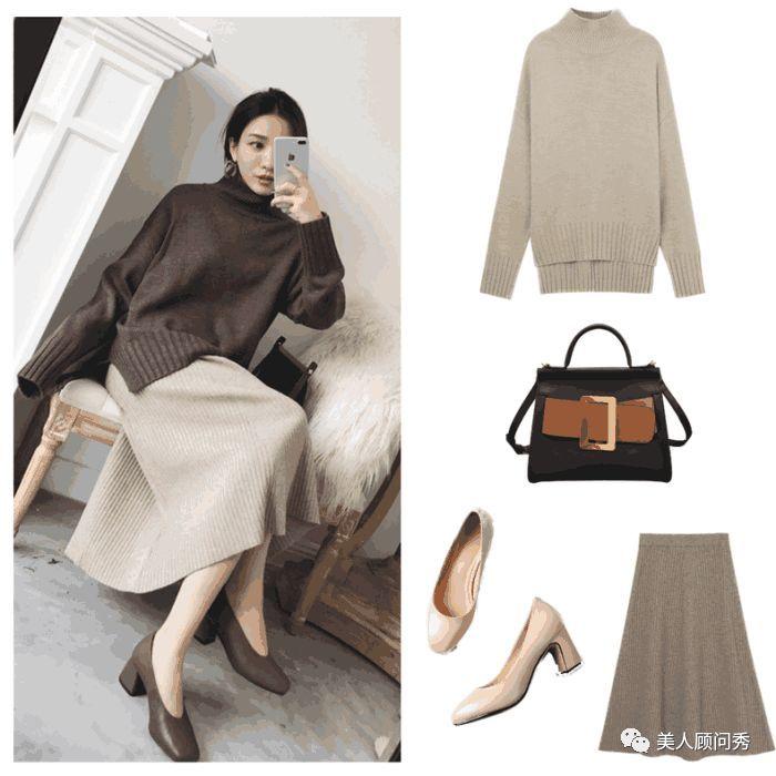 女人靓丽网 慵懒时尚的毛衣,时髦百搭的款式让女性年轻很多,穿出神秘感!