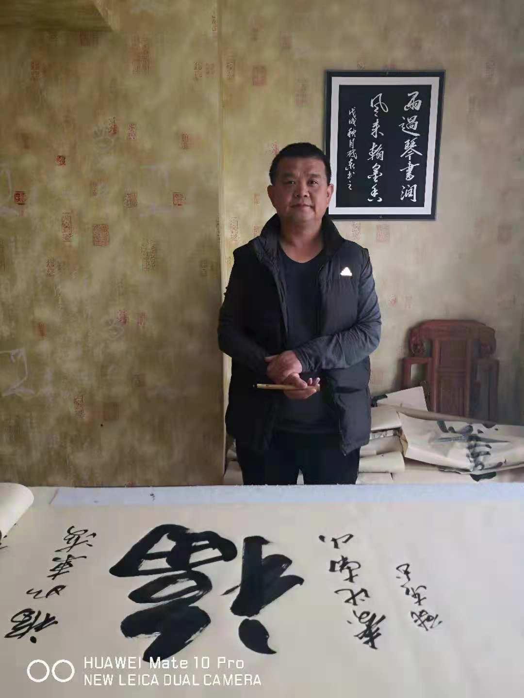 著名书法家李启泰艺术人生