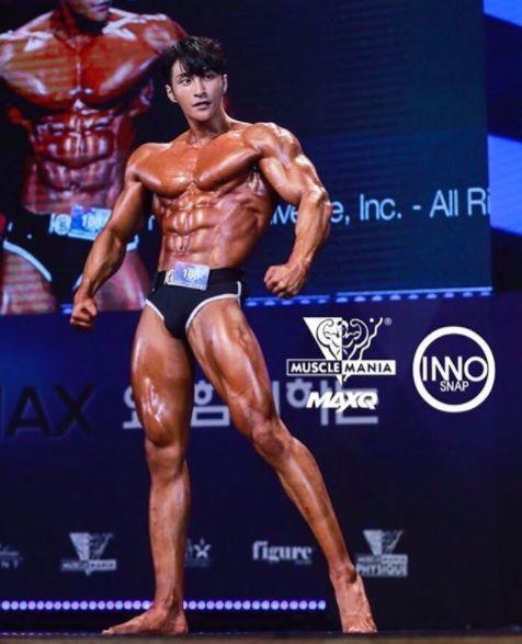 北京健身模特男