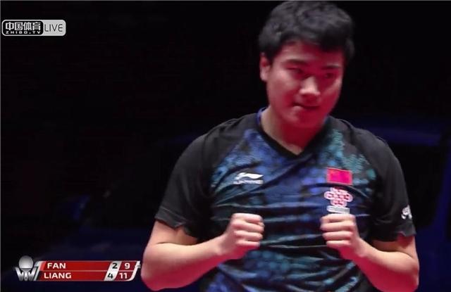中国扫地僧逆袭淘汰国乒世界第一 赛后激动异常又摔拍