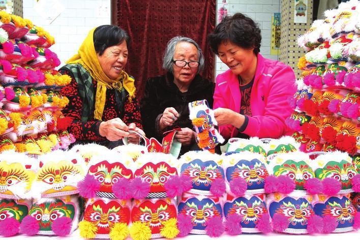 邯郸市永年区张西堡镇的乡村手工艺人