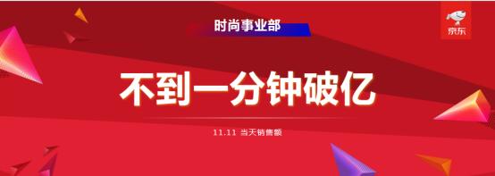 行走的战报!京东胡胜利首次披露时尚品类11.11销售战绩