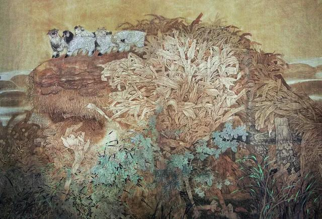 《国画收藏》微杂志|姚占芳:一个村庄的艺术梦