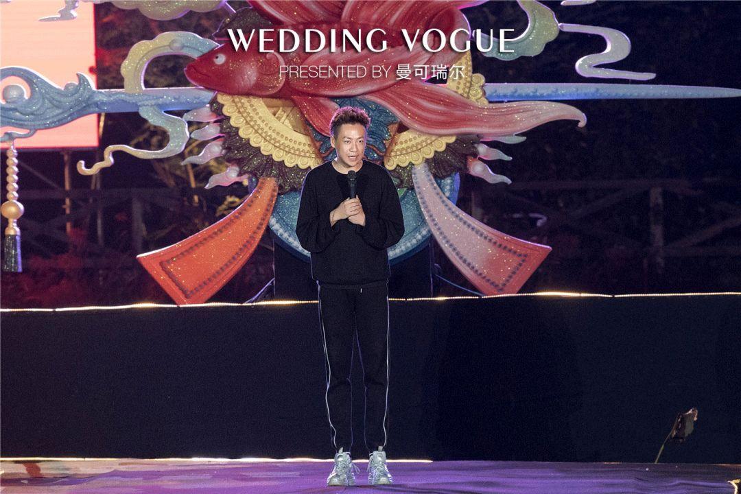 时尚 正文  婚礼秀主办方:曼可瑞尔 × 周鸣定制 婚礼秀主持人:林欣图片