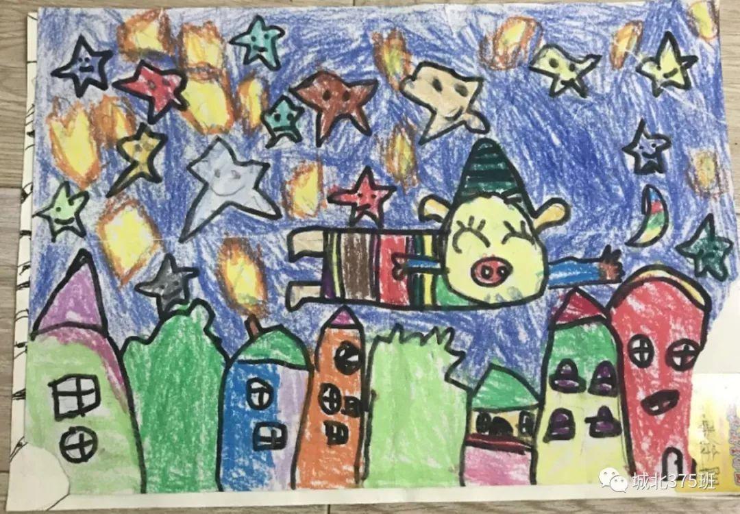 二年级美丽的校园图画作品欣赏_学习啦在线学习网