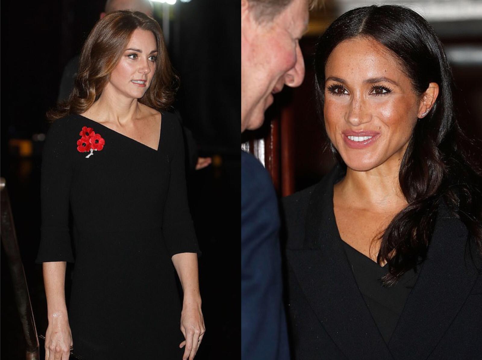 王室齊聚紀念日活動,凱特好少女梅根胖了些,卡米拉笑得最開心 時尚 第2張