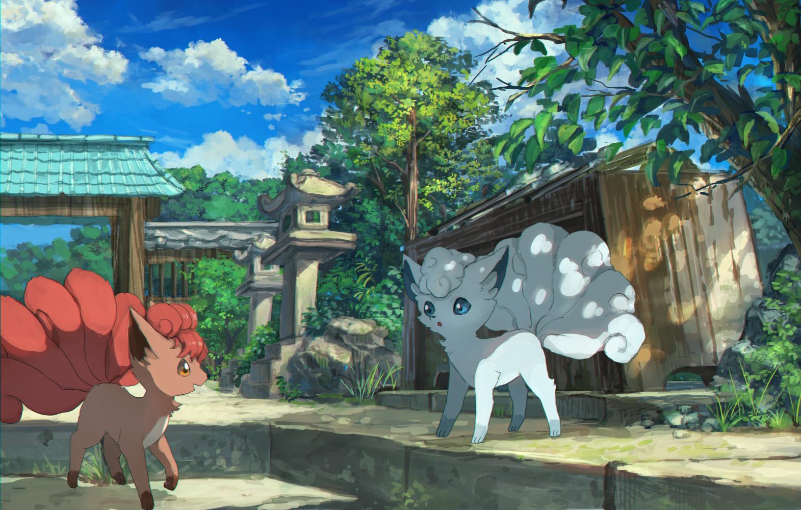 【p站画师】日本画师ぴっぴ的插画作品,一位风景画师