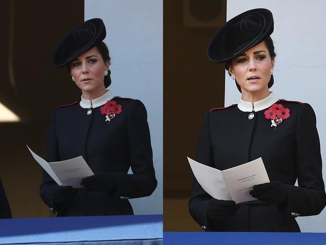 凯特王妃、梅根「黑色时尚」比美!头发乱翘形象扣分的是她...