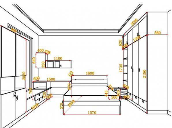 工程图 简笔画 平面图 手绘 线稿 596_443