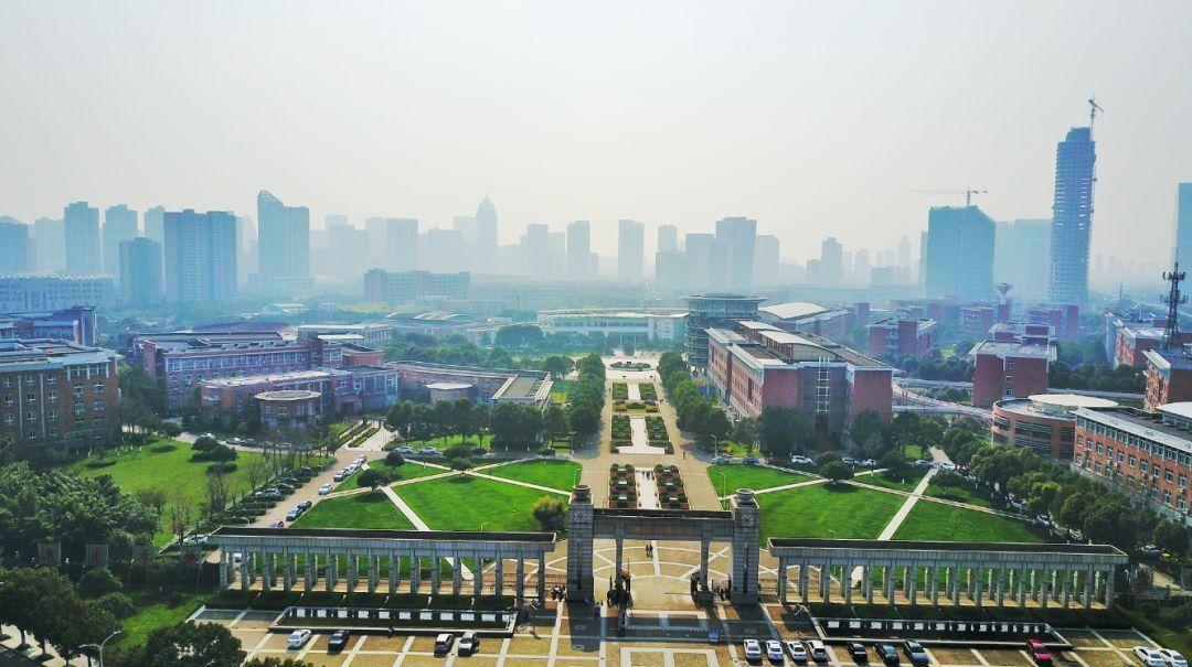 浙江万里西校区平面图